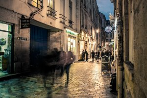 In the Marais at Night