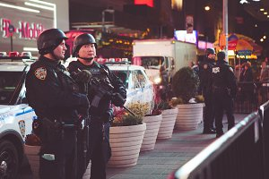 SWAT Times Square