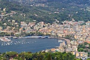 panorama of Rapallo