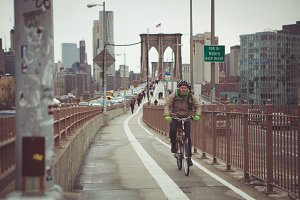 Brooklyn Cyclist