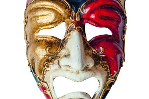 Luxury carnival mask