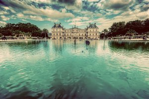 The Luxembourg Palace in Paris.