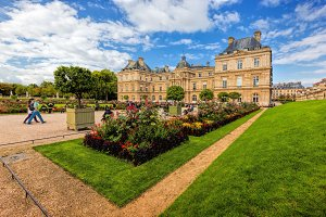 The Luxembourg Palace, Paris.