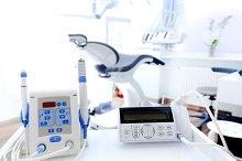 Dental instruments. Denistry.