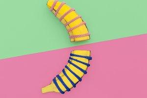 Cool Design Banana