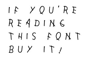 Reading This — Font