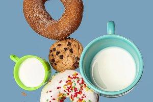 Balancing cookies and donuts