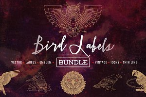 Bird Labels Bundle