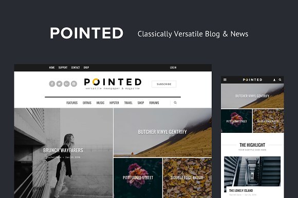 Pointed - Versatile Blog/News Theme