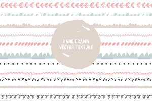 Hand Drawn  vector texture