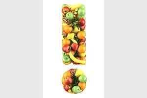 fruit symbol !