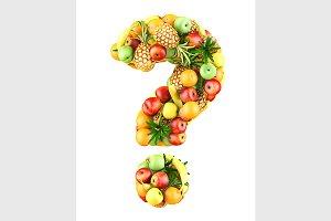 fruit symbol ?
