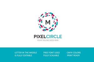 Pixel Circle V3 Logo