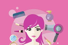 Beauty Salon Concept