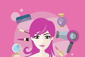 Beauty Salon Concept