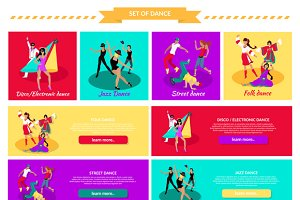 Set Street Folk Dance Jazz and Disco