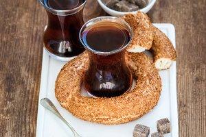 Turkish traditional black tea