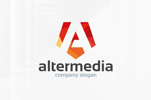 Alter Media Logo Template
