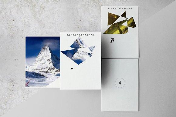 A3/A4/A5 Poster / Flyer Mockups V.2 - Product Mockups