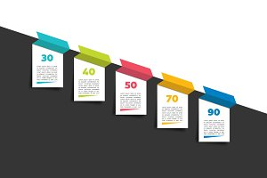 Time line template infographic.