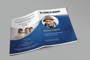 Funeral Program Template-V407