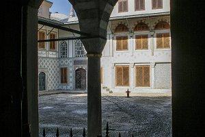 Courtyard Topkapi Palace