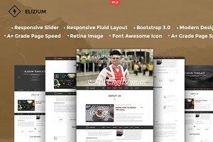 Elizium - Responsive HTML5 Template