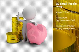 3D Small People - Savings