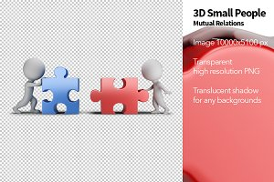 3D Small People - Mutual Relations