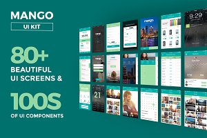 Mango UI Kit (Retina Ready)