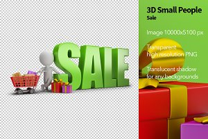 3D Small People - Sale