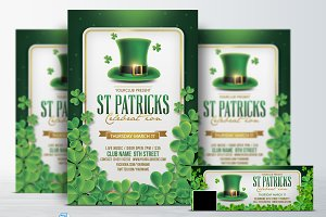 St. Patricks Day Flyer & FB Cover