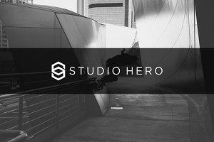 Letter S | Studio Here logo Template