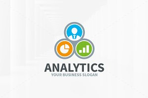 Analytics Logo Template