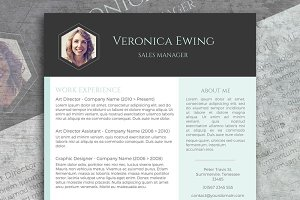 Honeycomb CV + Free Cover Letter