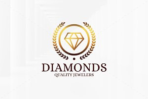 Diamonds Logo Templates