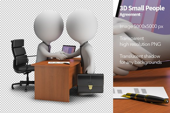 3D Small People - Agreement