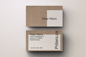Creative Eco Business Card Template