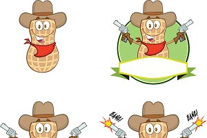 Peanut Cowboy Collection Set