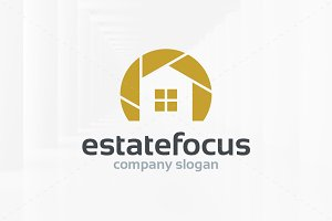 Estate Focus Logo Template