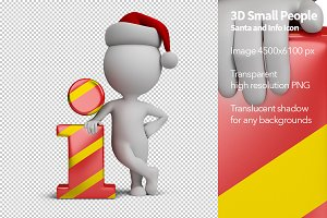 3D Small People - Santa Info