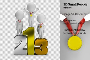 3D Small People - Winners