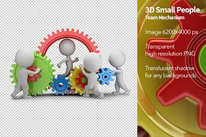 3D Small People - Team Mechanism