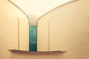 Vintage facade