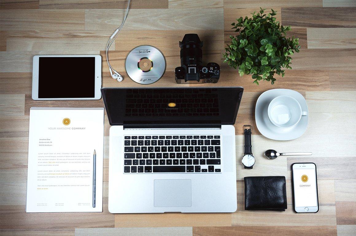 Business Desk Mock Up Product Mockups Creative Market