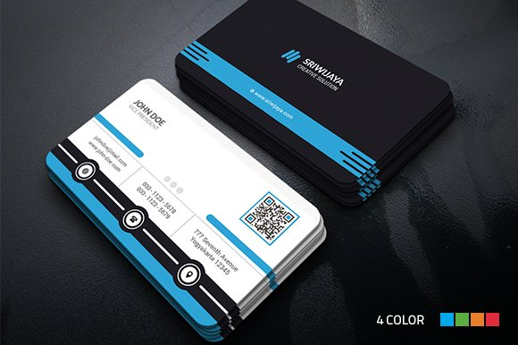 Professional Business Card Business Card Templates Creative Market - Professional business card templates