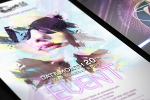 Nightclub Flyer Template 3