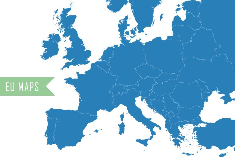 vector maps of europe illustrations creative market