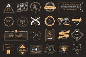65 Vintage Logos