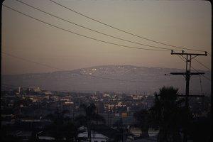 Smog over LA